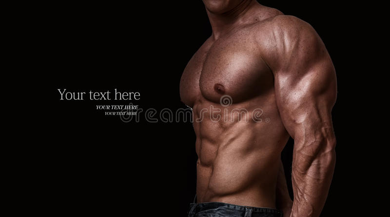 Bodybuilder photos libres de droits