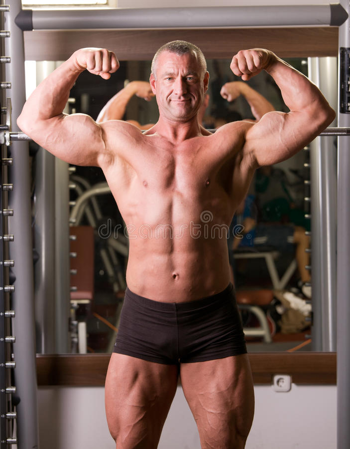 Bodybuilder photo stock