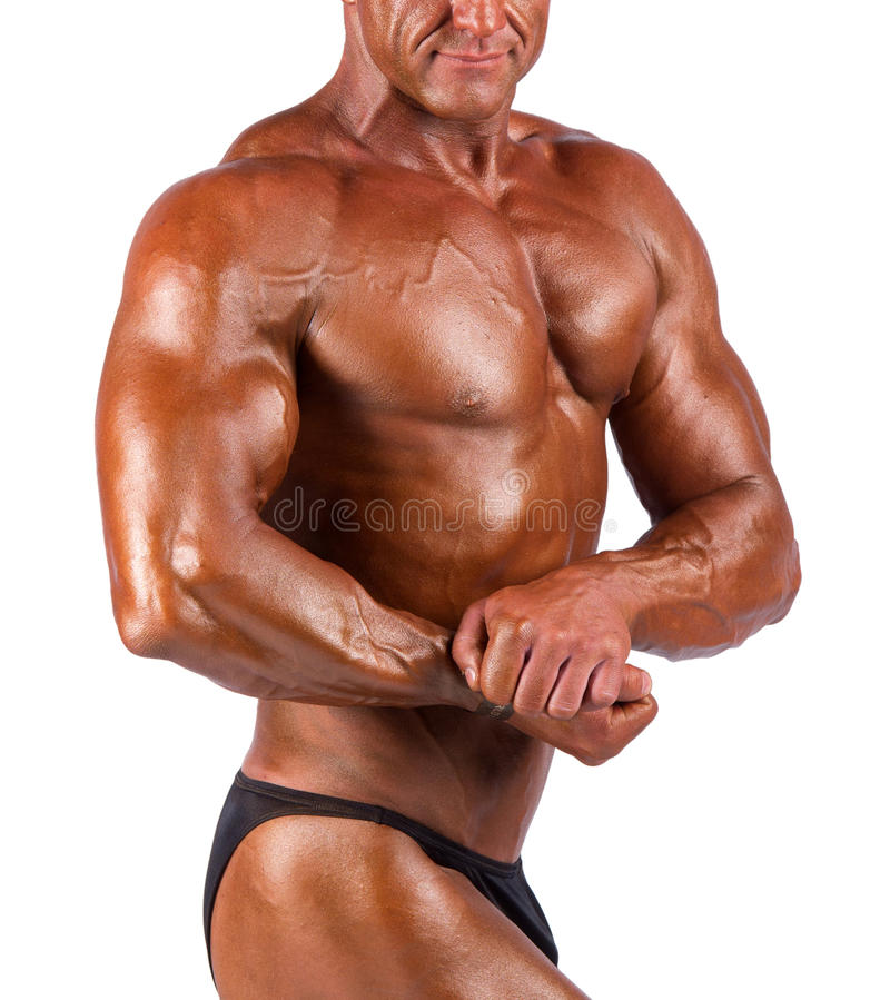 Bodybuilder photo libre de droits