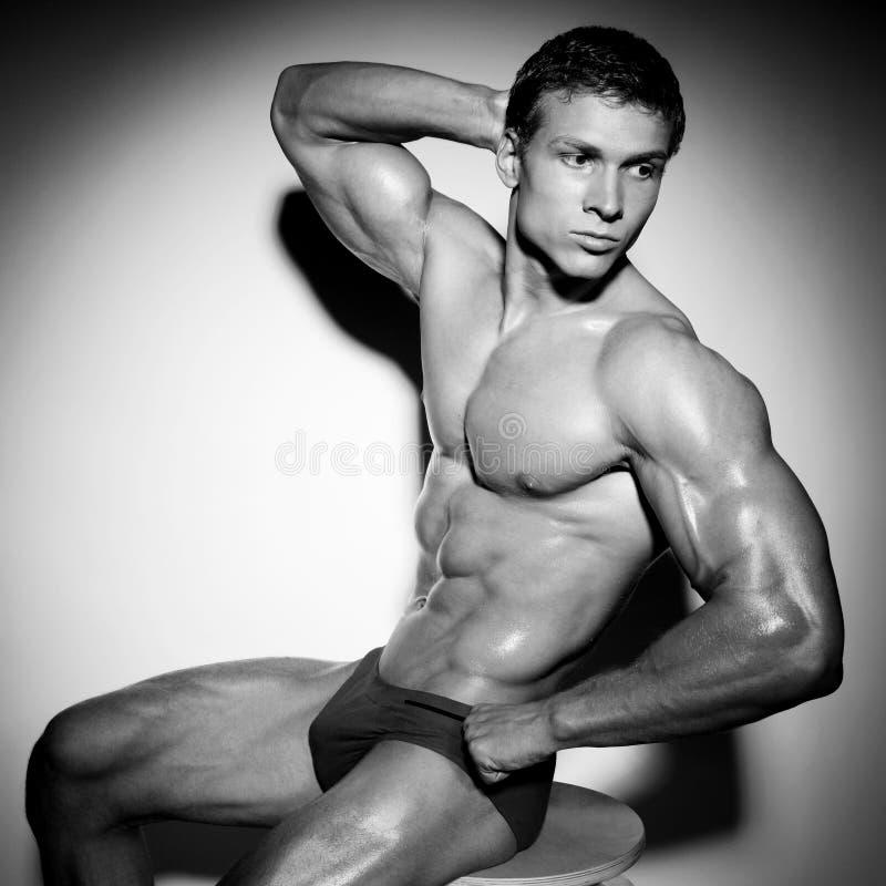 Bodybuilder Photos libres de droits