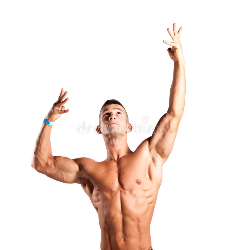 Bodybuilder obrazy royalty free