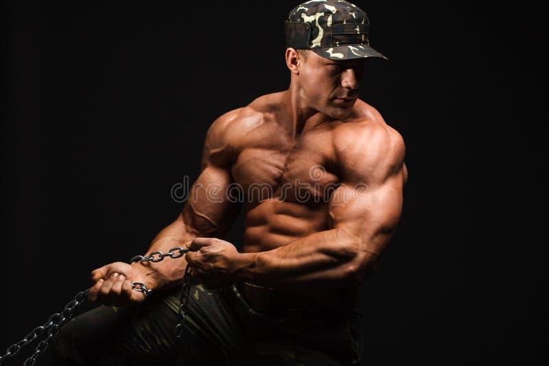 Bodybuilder zdjęcie stock