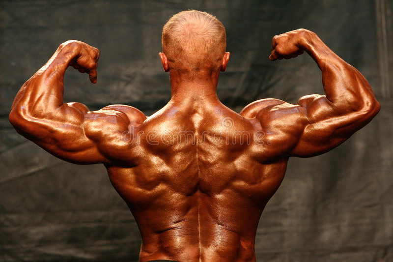 Bodybuilder photographie stock