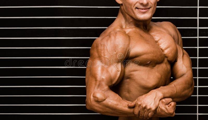 Bodybuilder royalty-vrije stock afbeeldingen