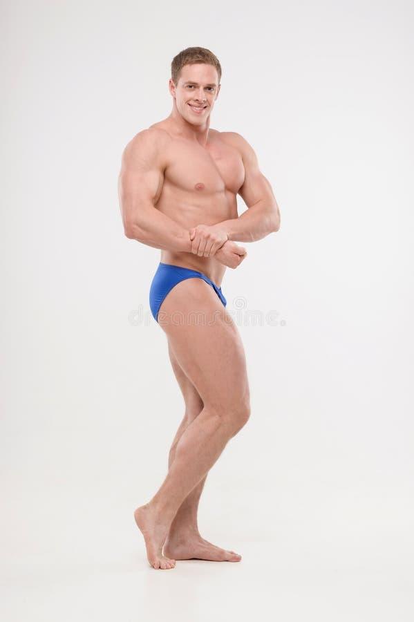 Bodybuilder image stock