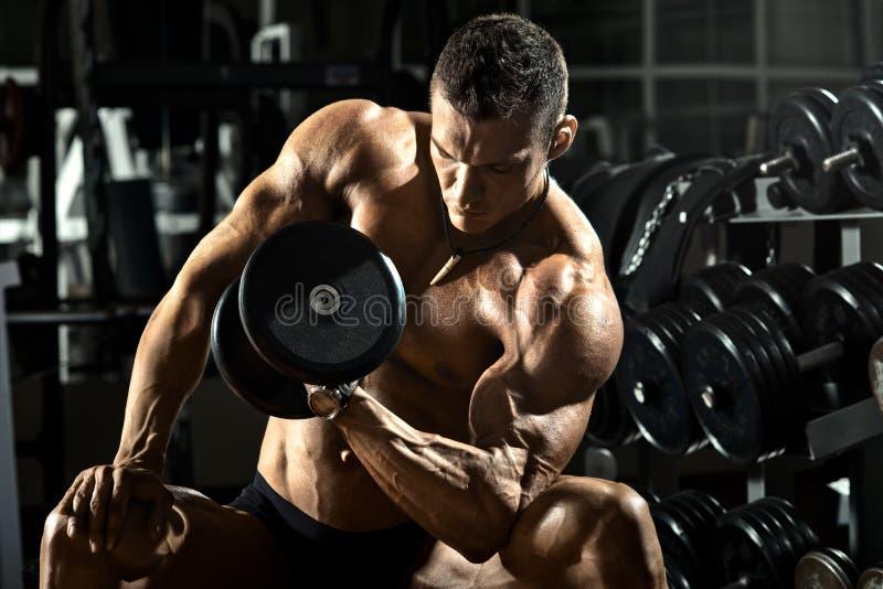 Bodybuilder royalty-vrije stock foto's