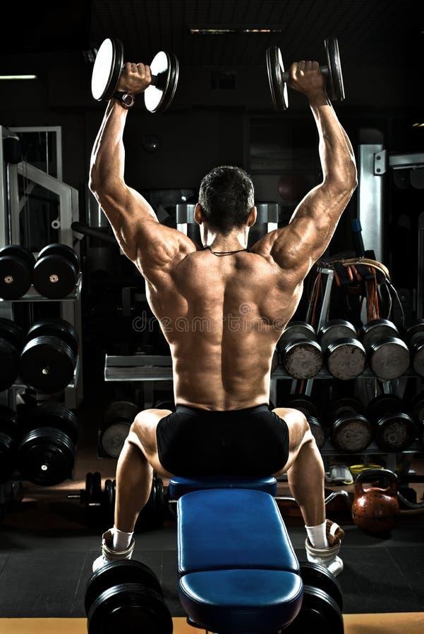 Bodybuilder stock fotografie