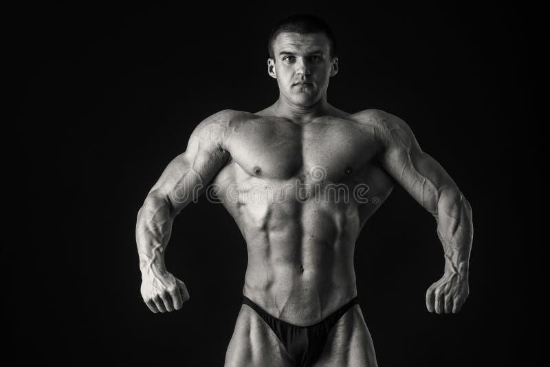 Bodybuilder royalty-vrije stock foto