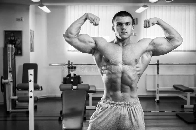 Bodybuilder foto de stock
