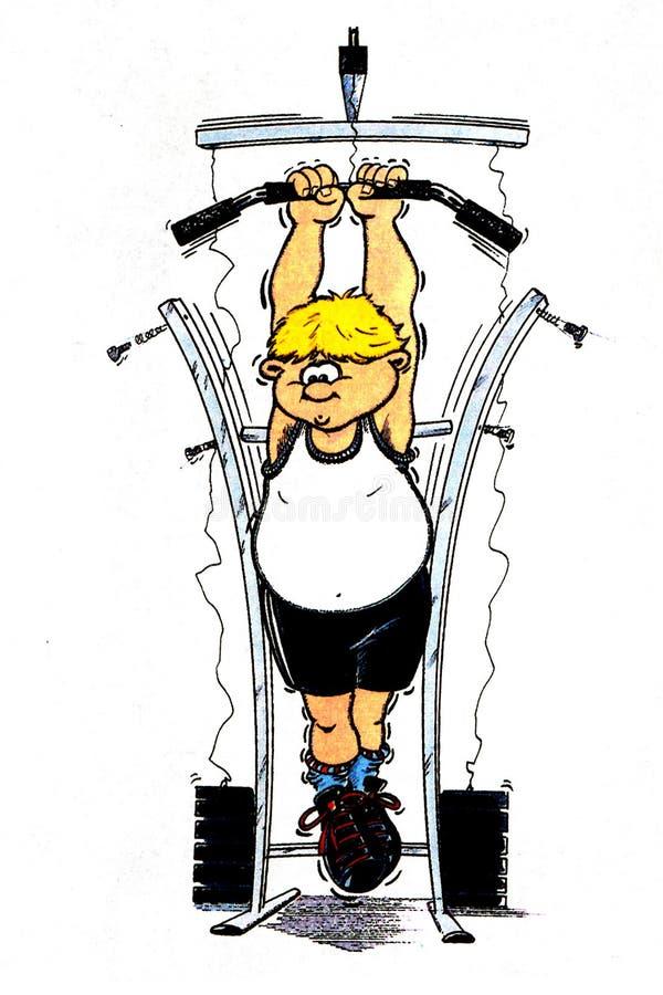 Bodybuilder vector illustration