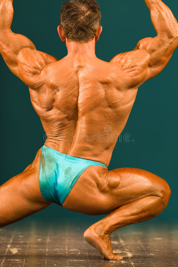 Bodybuilder images libres de droits