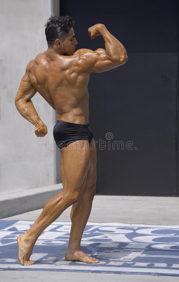 Bodybuilder royalty-vrije stock fotografie