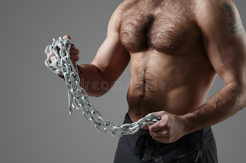 Bodybuilder fotografie stock