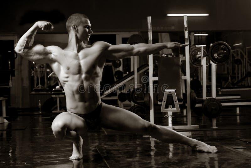Bodybuilder artístico foto de archivo libre de regalías