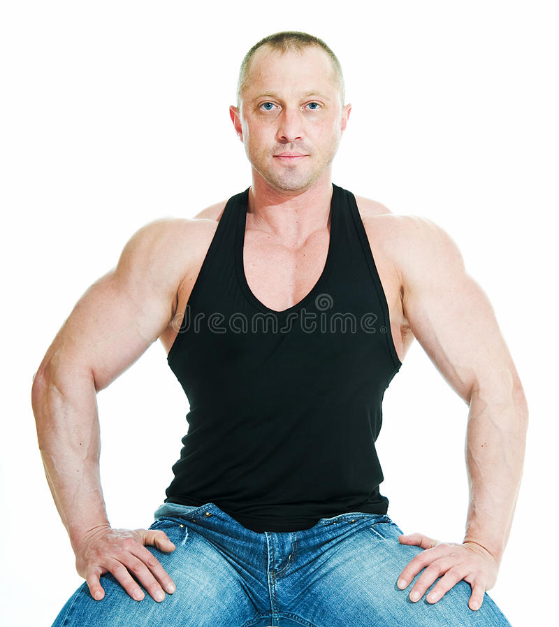 Bodybuilder d'homme photos libres de droits