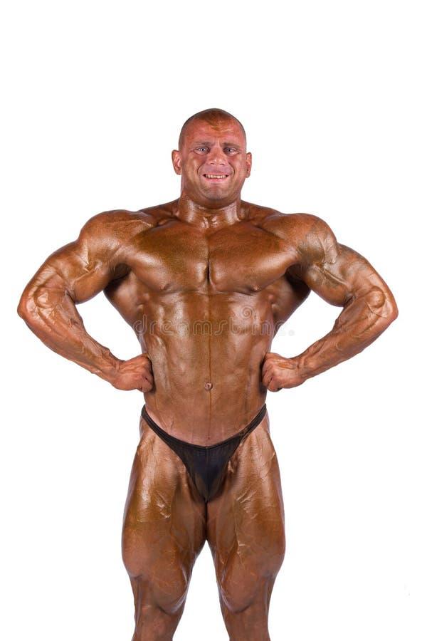 Download Bodybuilder Flexing Royalty Free Stock Image - Image: 21753546