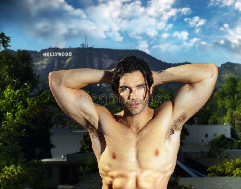 bodybuilder hollywood στοκ εικόνες με δικαίωμα ελεύθερης χρήσης