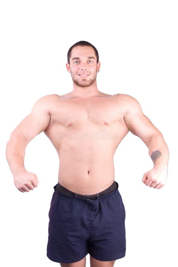 Bodybuilder joven foto de archivo