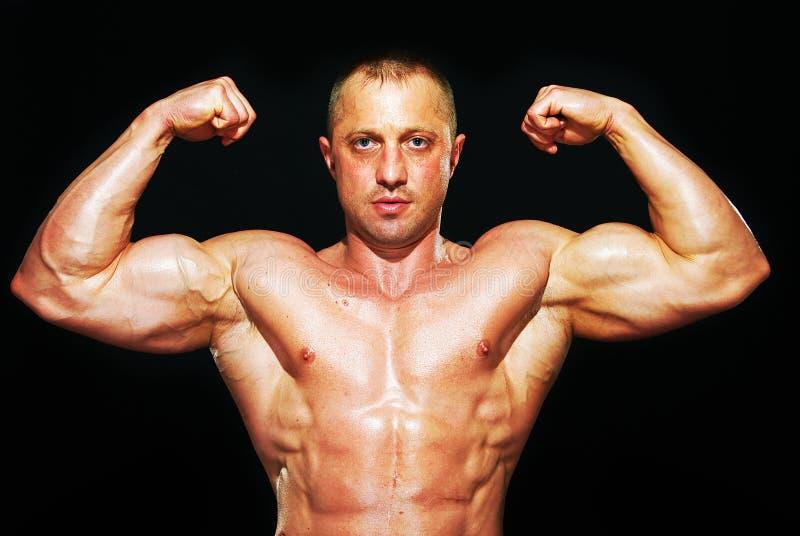 bodybuilder mężczyzna fotografia stock