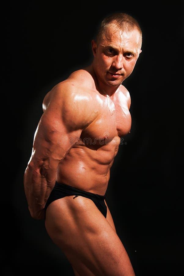 bodybuilder mężczyzna target904_0_ zdjęcia royalty free