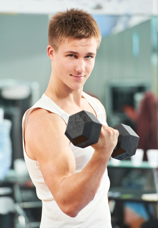 Download Bodybuilder Man Doing Biceps Muscle Exercises Stock Image - Image of bodybuilding, lifting: 33444519
