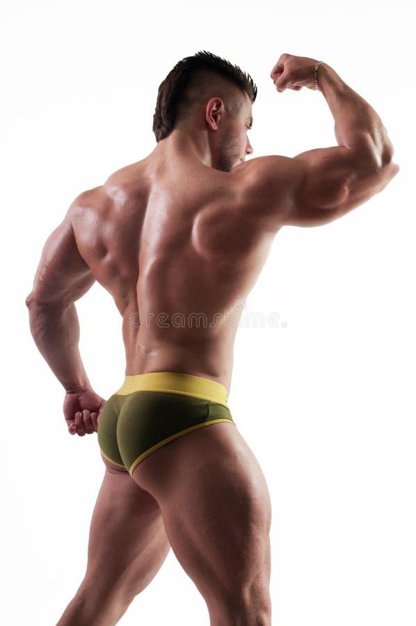 Bodybuilder masculino fotos de stock royalty free