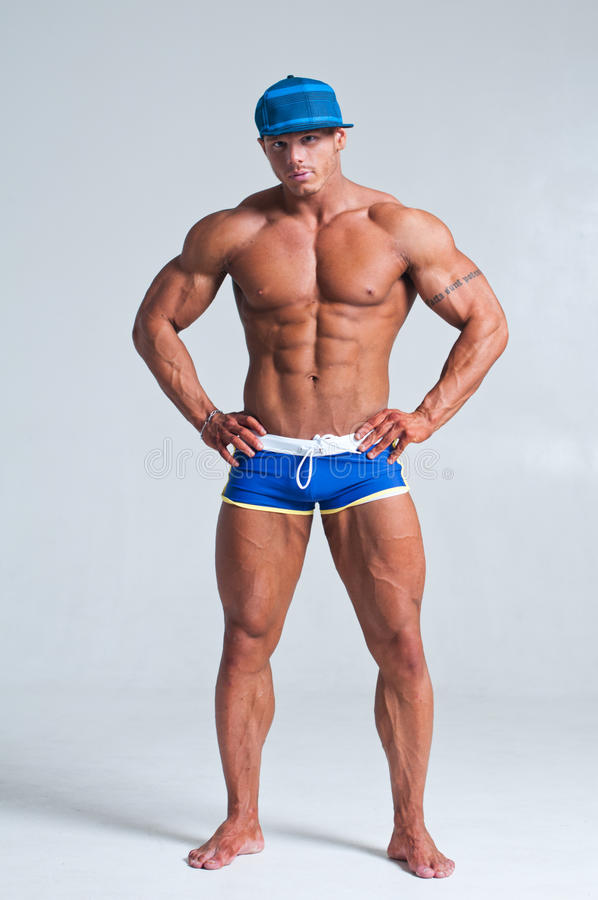 Download Bodybuilder muscles stock image. Image of muscle, male - 23311727