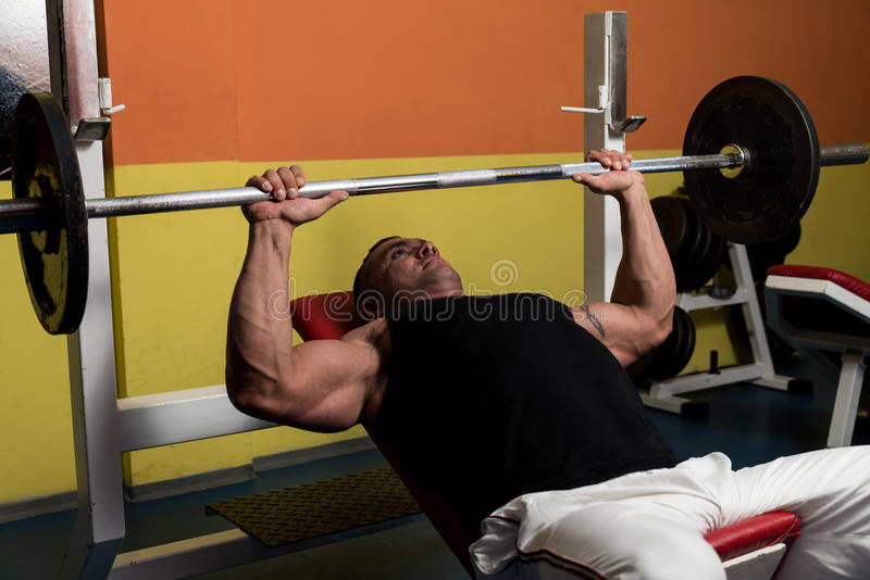 Bodybuilder Opleiding stock foto
