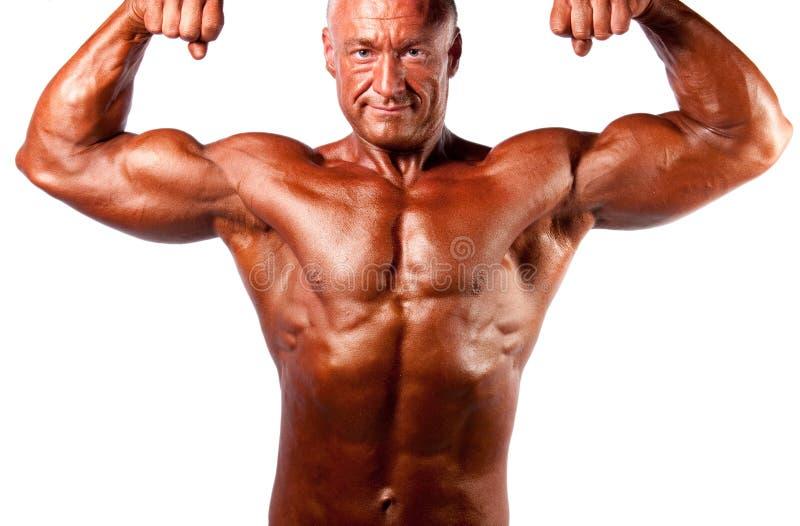 Download Bodybuilder posing stock photo. Image of body, bodybuilding - 17593470