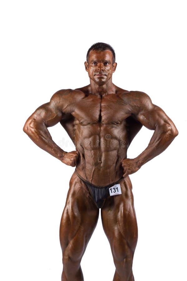 bodybuilder target1279_0_ zdjęcie royalty free