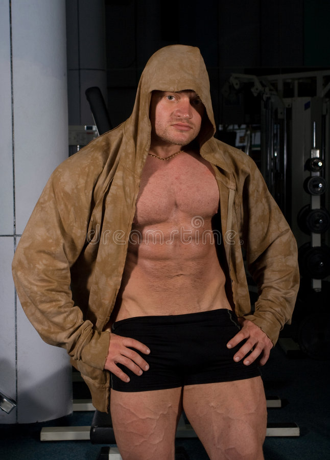 bodybuilder target197_0_ zdjęcie royalty free