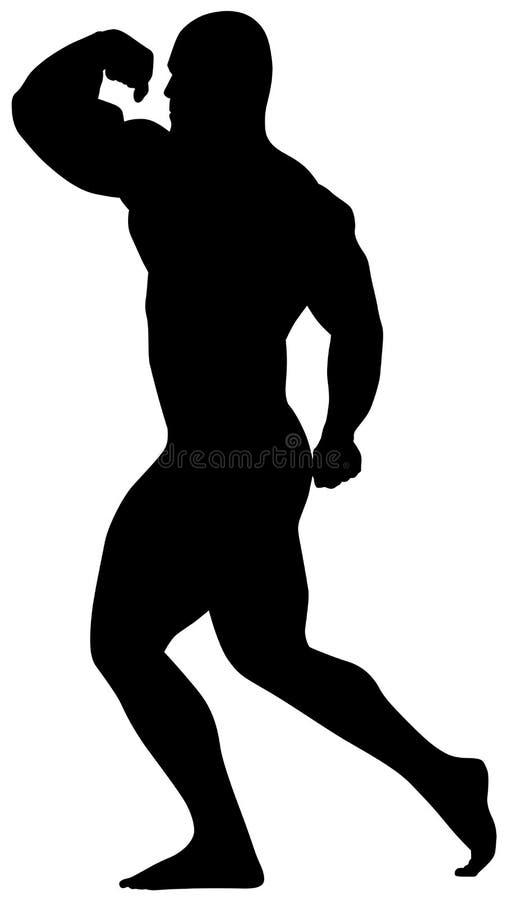 bodybuilding αθλητισμός εικονιδίω&n διανυσματική απεικόνιση