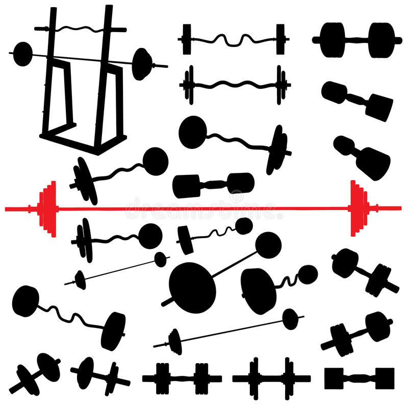 Bodybuilding vector illustratie