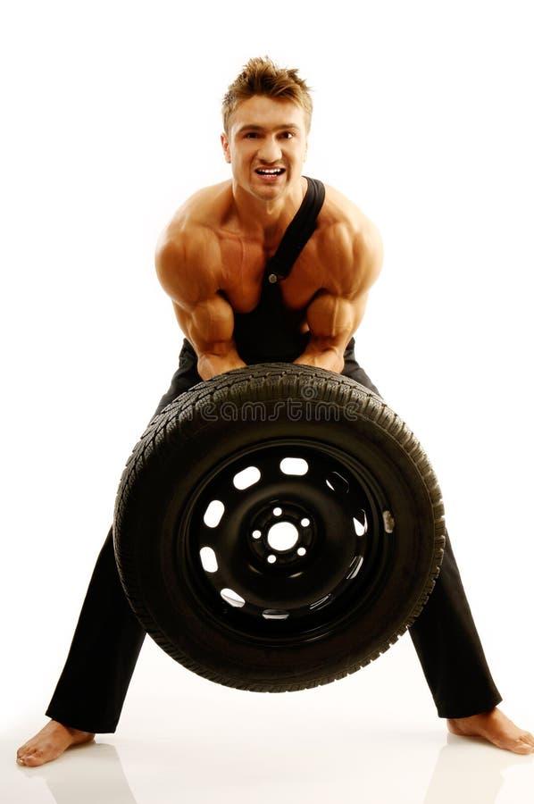 Bodybuilding stockfotos