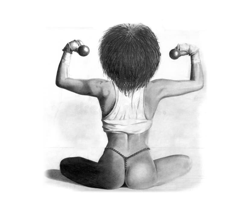 Bodybuilding Fotografering för Bildbyråer
