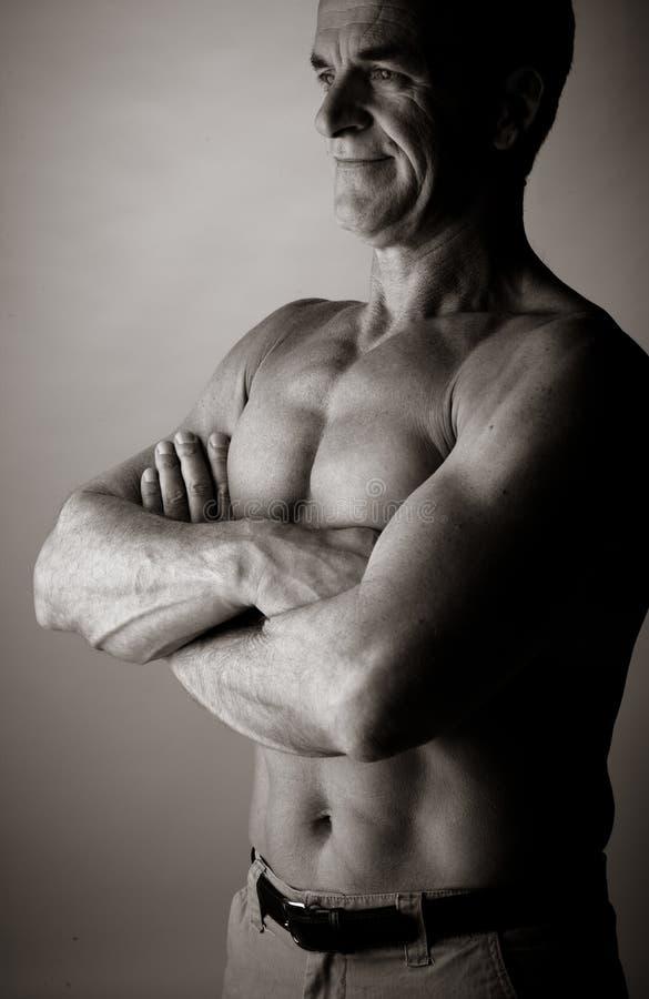 Bodybuilding imagen de archivo libre de regalías