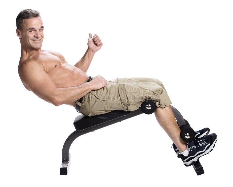 Bodybuilding foto de stock royalty free