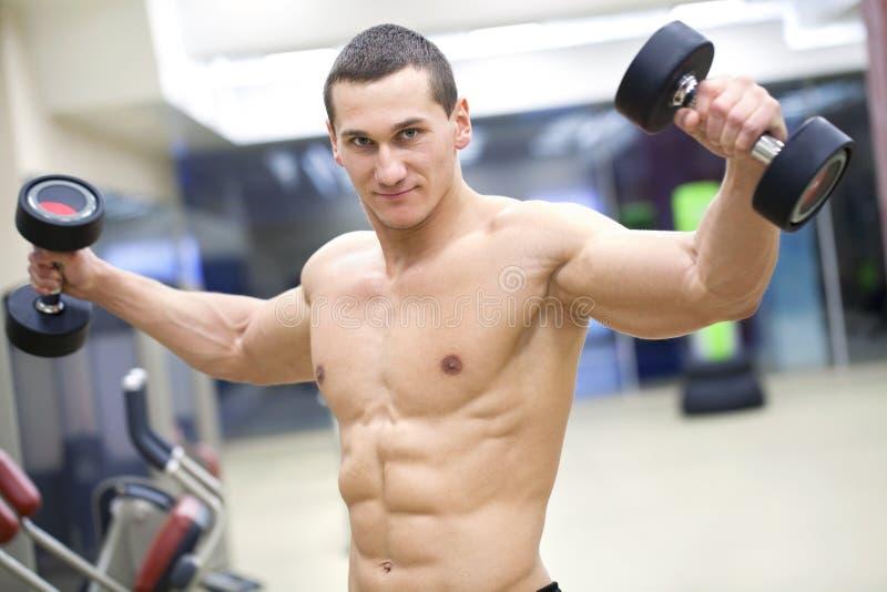 Bodybuilding royaltyfria foton