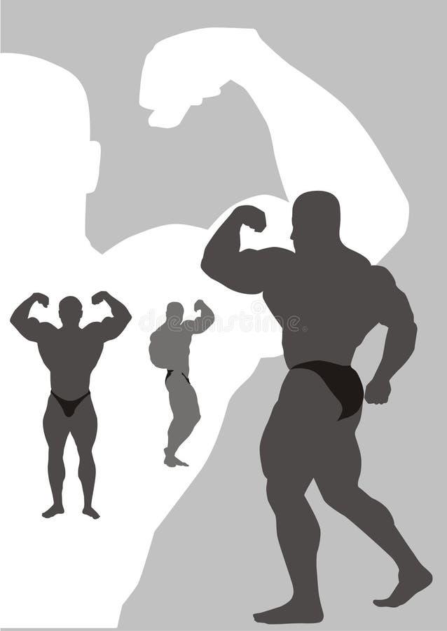 bodybuilding ilustracji