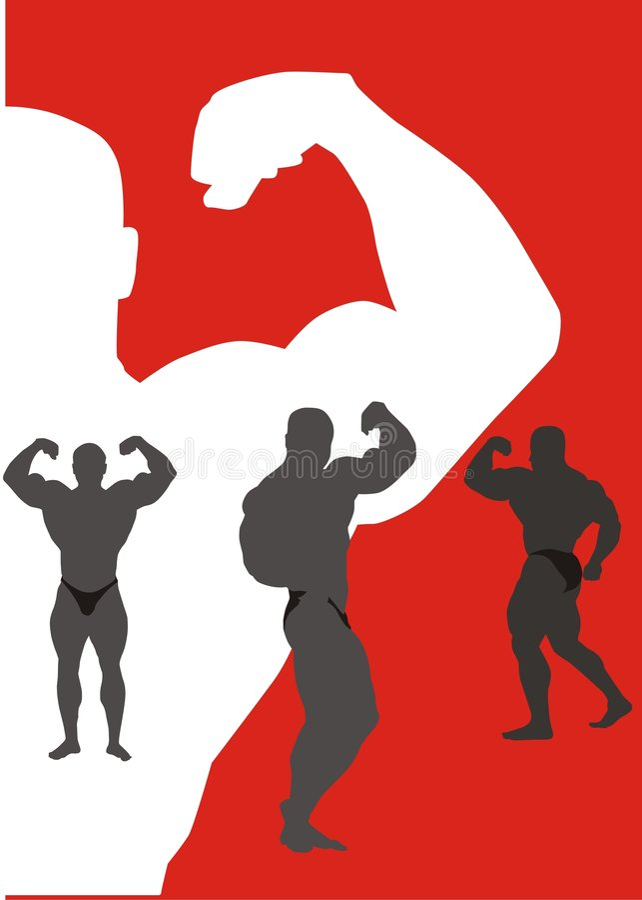 Bodybuilding stock abbildung
