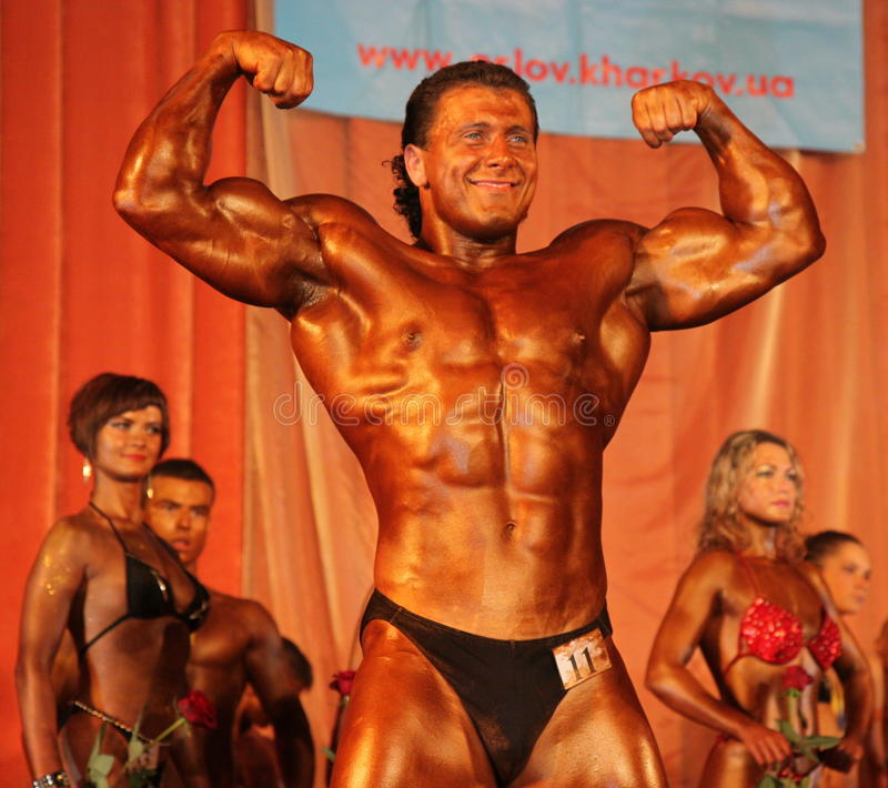 Download Bodybuilding And Fitness Championship Editorial Stock Image - Image: 11529099
