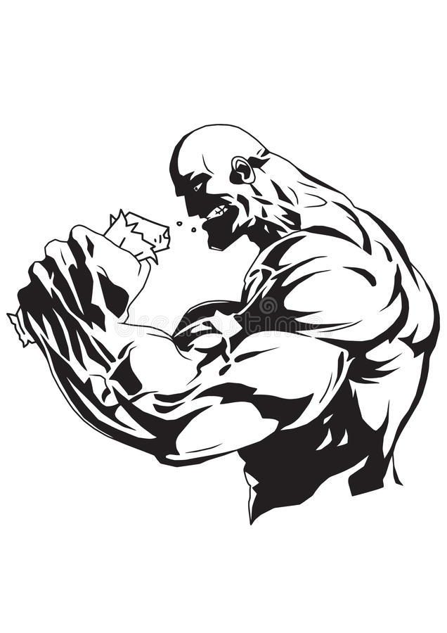 Bodybuilding supplement vector illustration