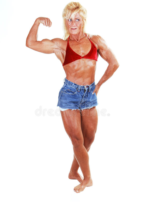 Download Bodybuilding Woman. Stock Image - Image: 11883351