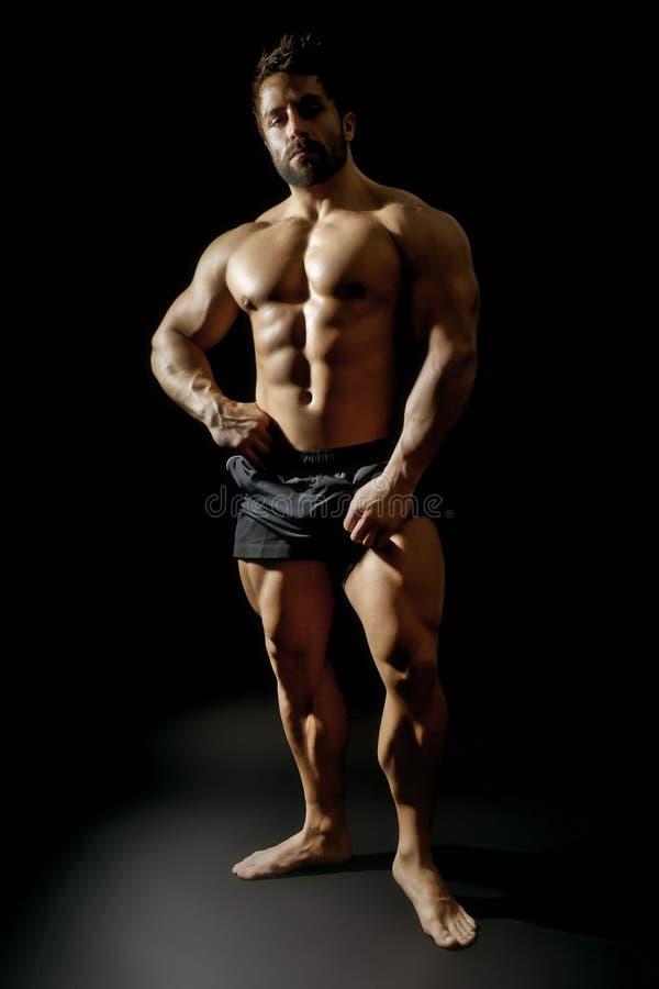 bodybuildingman arkivbilder