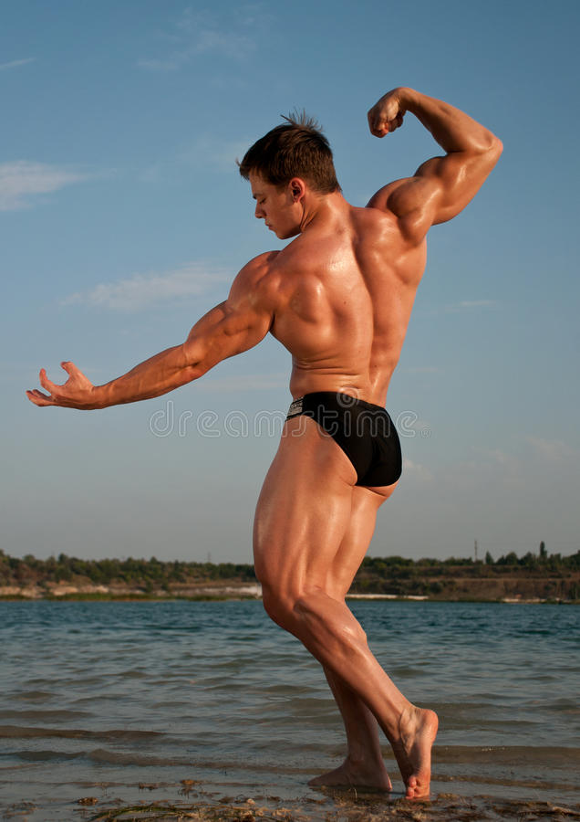 Bodybulder royalty free stock images