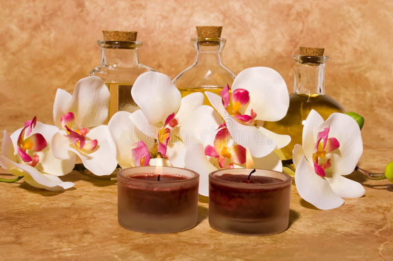 Download Bodycare massage items stock image. Image of reflection - 5392879