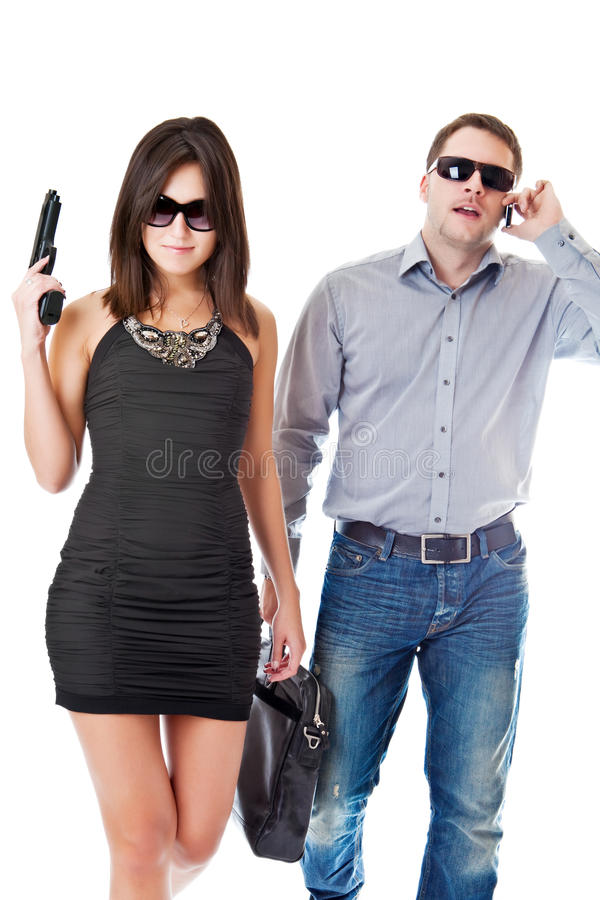 Bodyguard stock image