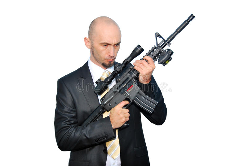 Download Bodyguard stock photo. Image of male, black, hand, assassin - 17101868