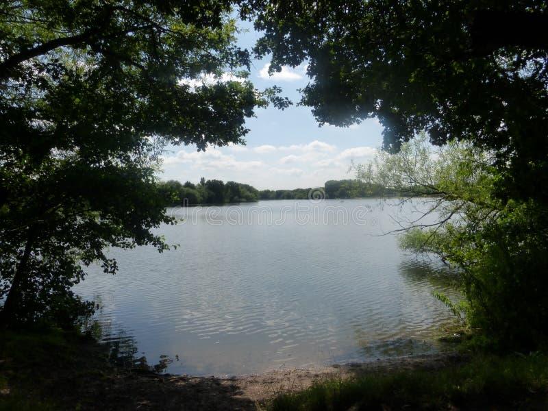 Bodymoor水池 免版税图库摄影