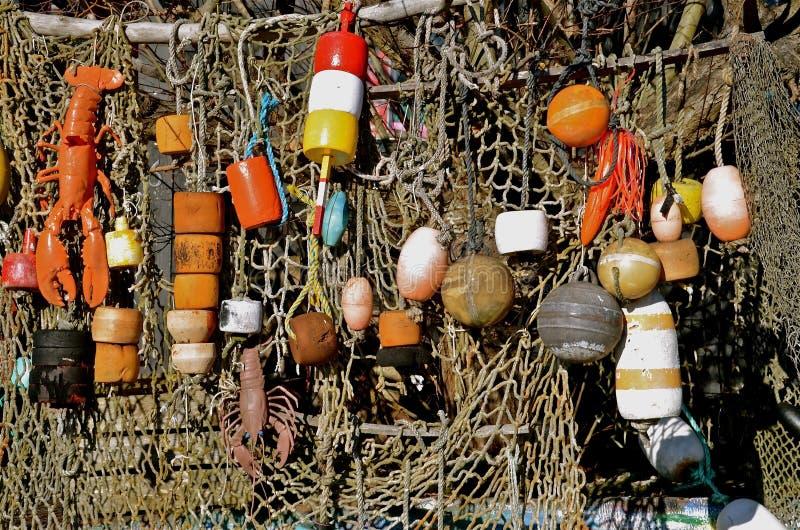 Boe e rete dell'aragosta immagine stock